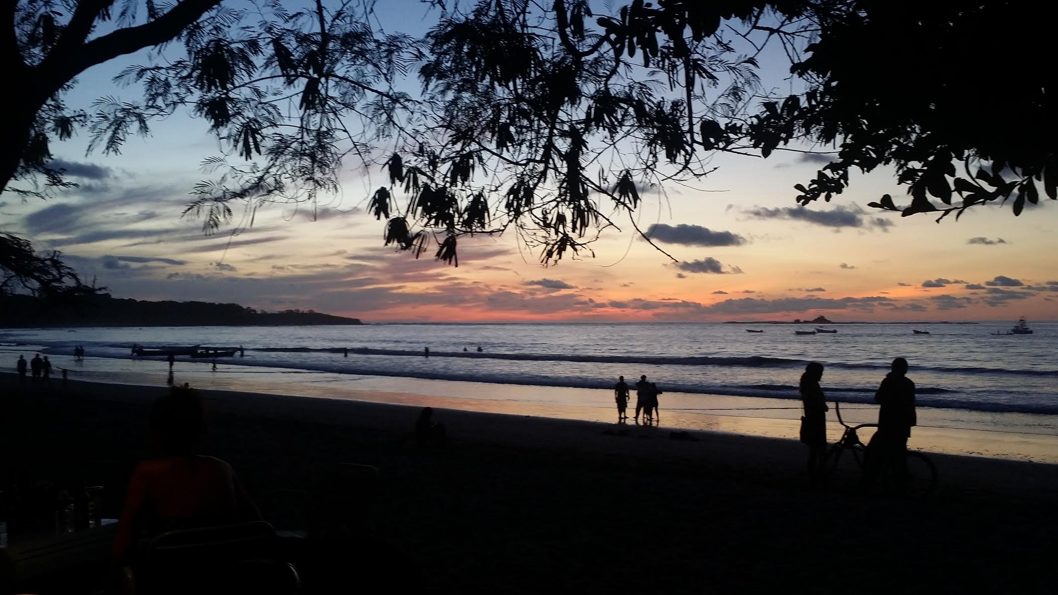 A Beautiful Sunset in Tamarindo! Photo Credit: Meagan Sargent
