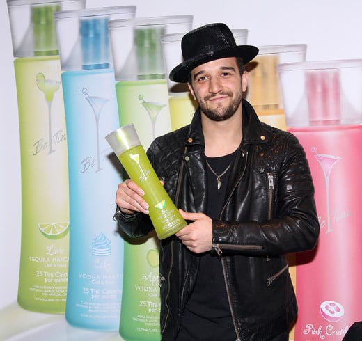 Mark Ballas Enjoying Be Tini Spirits!    Photo Credit: Maury Phillips/Getty Images for GBK Productions