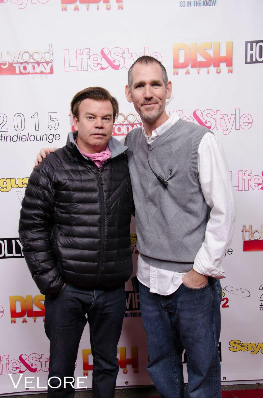 Paul Oakenfold and Danny Thompson,  at The Indie Lounge last year! Courtesy Photo