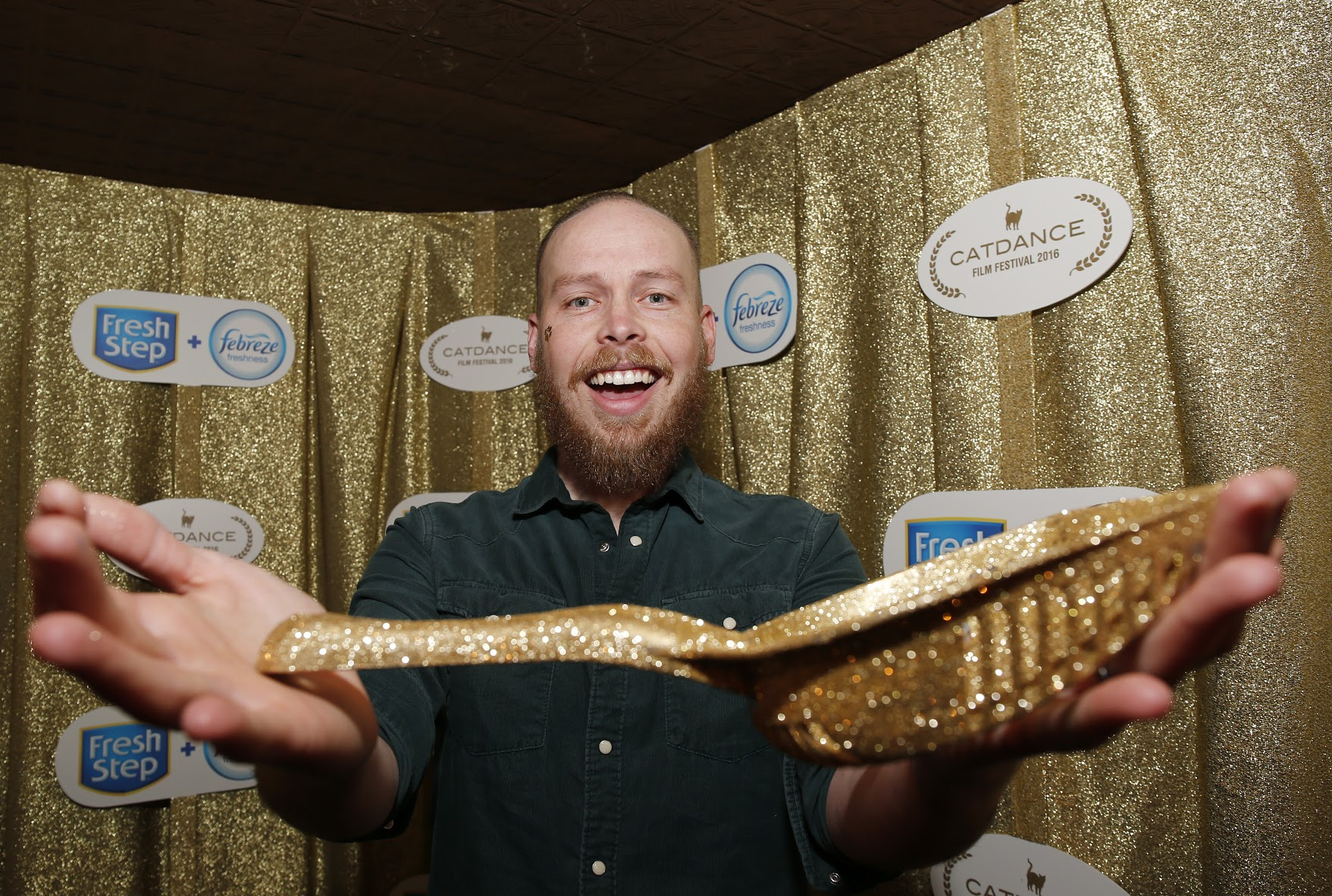 Winner of the Golden Scoop, Mike Thompson! Courtesy Photo