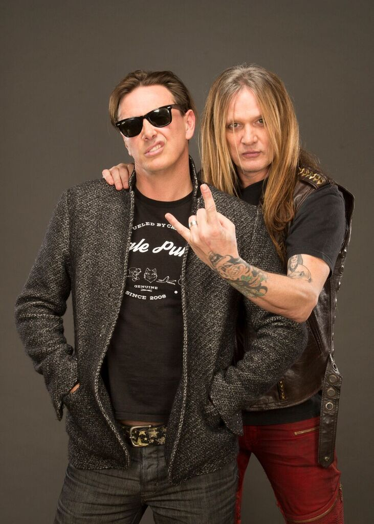 Donovan Leitch and Sebastian Bach! Courtesy Photo