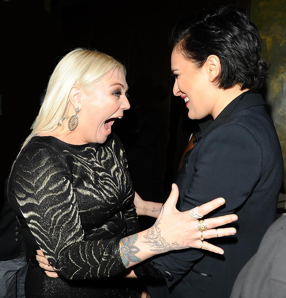 Rumor Willis and Elle King Were All Smiles at the OK! Magazine Pre-Grammy Party. Photo Credit: Startracks Photo