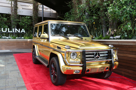 On my wish list! Guests were able to check out the latest with Mercedes-Benz at the Mercedes-Benz and African American Film Critics Association Oscars party at Four Seasons Beverly Hills on February 28, 2016 in Los Angeles, California.   Photo Credit:   Joe Scarnici/Getty Images for Mercedes-Benz USA.