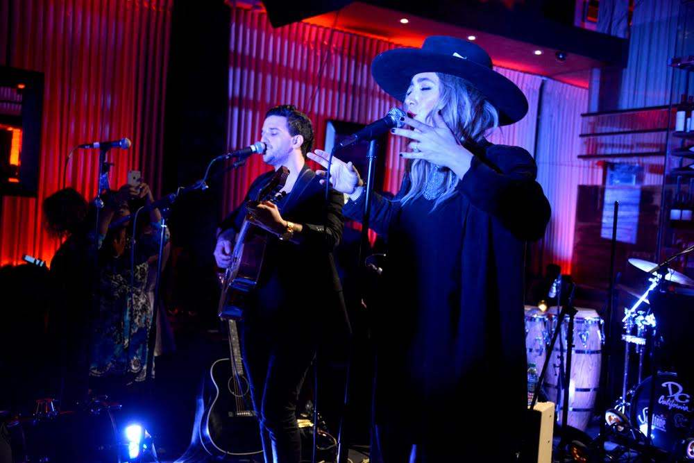 Mark Ballas and BC Jean gave attendees a special performance. Courtesy Photo