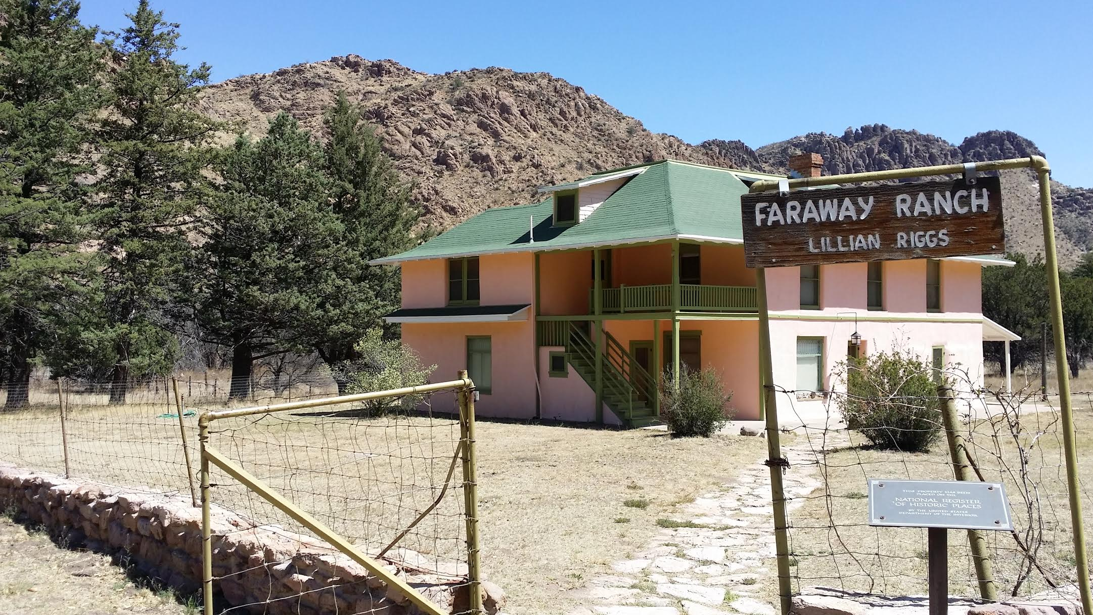 The Faraway Ranch Operated Until 1975. Since Then it Has Been Open For Tours to the Public.