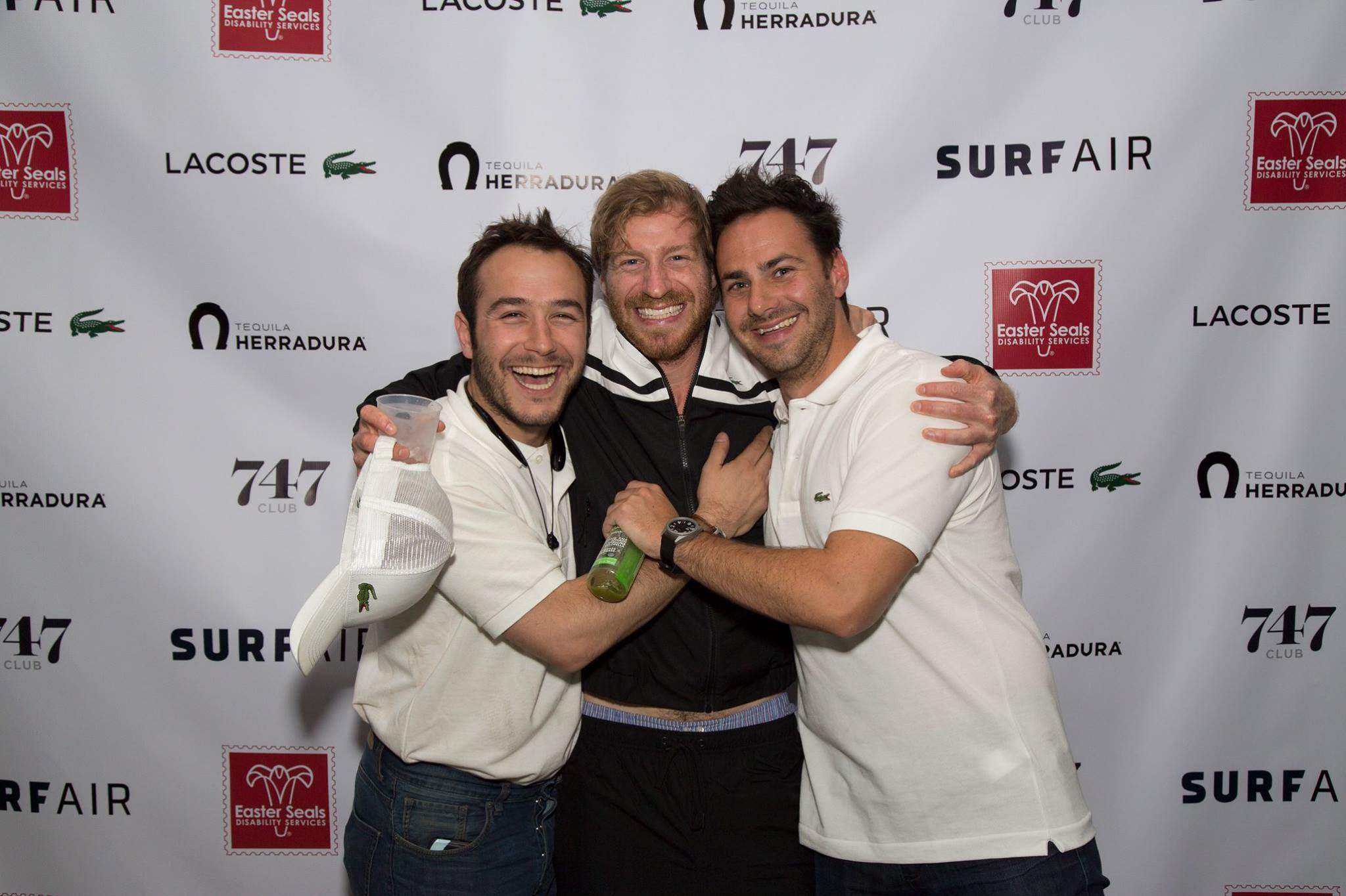 Chris, Ryan, and Andrew Made History with 'An Upset'! Courtesy Photo