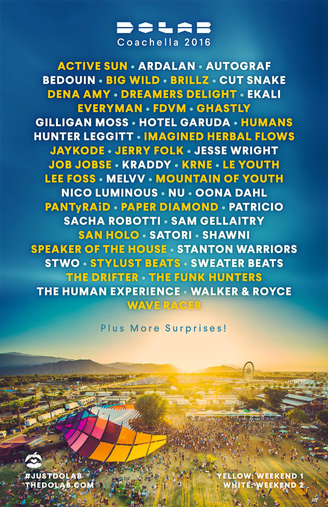 Complete Lineup of The DoLaB