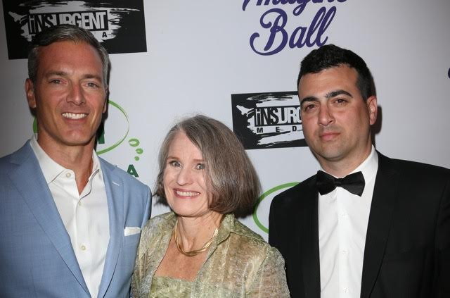 Entrepreneur Randall Kaplan & The h.wood Group's John Terzian with Imagine LA's Jill Bauman host the 3rd ANNUAL IMAGINE BALL, presented by Insurgent Media & The h.wood Group with celebratory sips by Allaire Vodka & Aged Crystal Tequila at Bootsy Bellows last Thursday, May 5th, 2016, in West Hollywood, CA.   Photo Credit: Faye Sadou