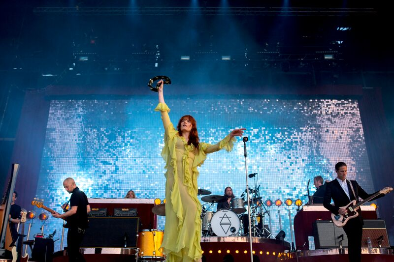 Florence + The Machine Was One With The Crowd. Photo Credit: BottleRock Napa Valley/Latitude 38 Entertainment