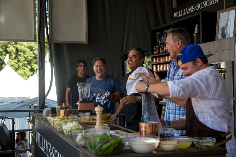 The Culinary Stage! Photo Credit: BottleRock Napa Valley/Latitude 38 Entertainment
