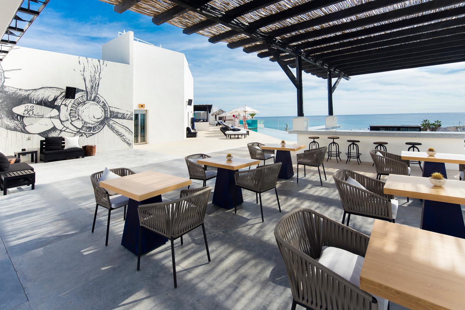 The Rooftop Sushi &Bar at Hotel El Ganzo. Photo Courtesy of Hotel El Ganzo