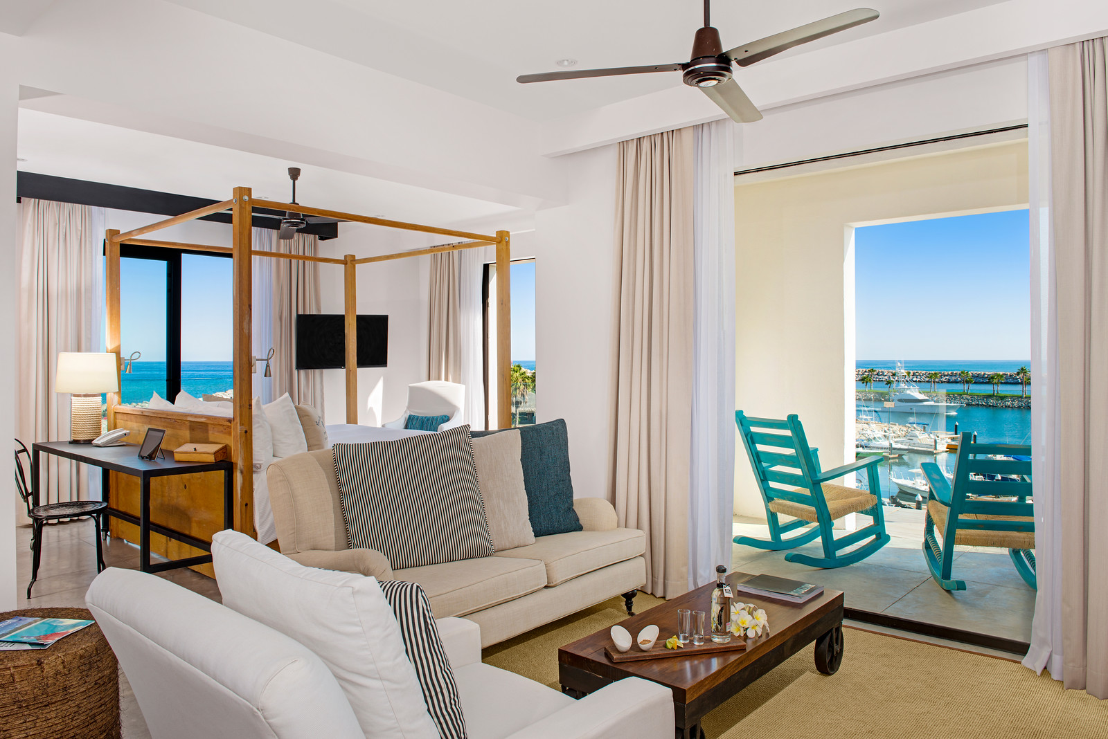 A Glimpse of One of the Master Suites at El Ganzo! Photo Courtesy of Hotel El Ganzo.