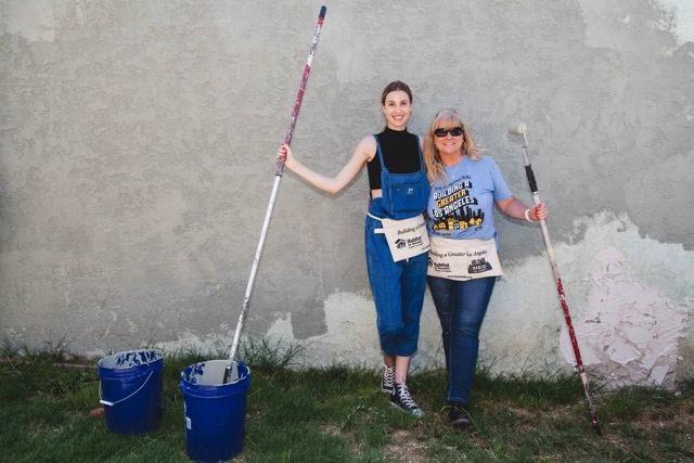 Whitney Port of   The Hills  volunteering with Habitat LA. Courtesy Photo