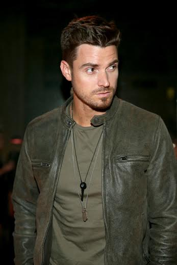 """""""The Bachelorette"""" star  Luke Pell serendipitously received the LOVE Matte Black  Key  Necklace at The Giving Keys launch party for the new Matte Black Key Necklace on September 29, 2016 at RVCC in Los Angeles, California.  (Photo by Jonathan Leibson  Getty Images for The Giving Keys)"""