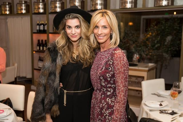 Rachel McCord takes a moment with Nutritionist Elissa Goodman, attending        last night's preview of the special NBCF P        rix Fixe M         enu          curated by Executive Chef              Wilfrid Hocquet & Nutritionist Elissa Goodman,           in support of the National Breast Cancer Foundation with their partnership with Fig & Olive.           G                 uests                   experienced and celebrated the prix fix menu's health benefits associated with the Mediterranean Diet                     at Fig & Olive Melrose Place, West Hollywood, Ca., on Tuesday, October 4th, 2016.