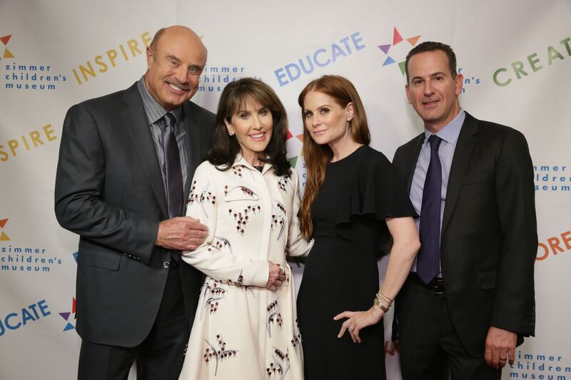 Dr. Phil McGraw and Wife Robin! Courtesy Photo