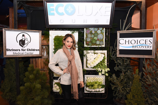 Celebrity ambassador for EcoLuxe Gabbi Saidiani attends EcoLuxe Lounge Ten Years at Sundance on January 22, 2017 in Park City, Utah. (Photo by Vivien Killilea/Getty Images for EcoLuxe)