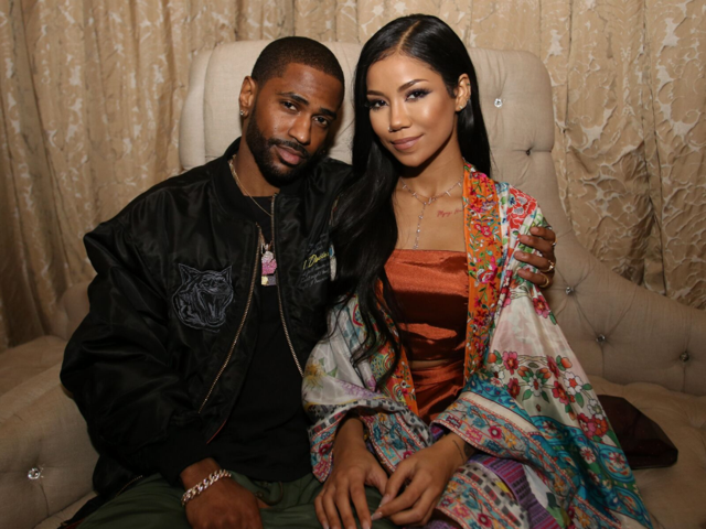 Big Sean and Jhene Aiko showed each other love as they celebrated Grammy-nominated Anderson Paak's birthday with  CÎROC  last night in LA. Photo Credit: Thaddeus McAdams