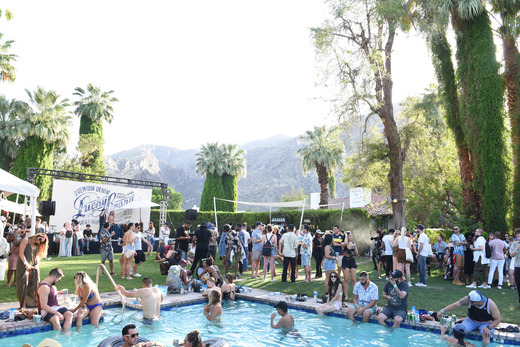A general view of atmosphere at Lucky Lounge Presents Desert Jam on April 15, 2017 in Palm Springs, California. Photo Credit: Vivien Killilea/Getty Images for BMF Media)