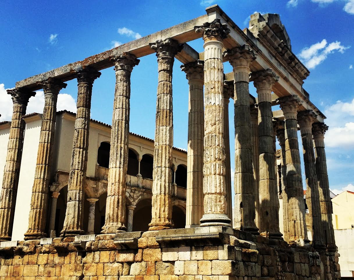 The Beautiful Temple of Diana in Merida! The Historical Remains Are Truly a Sight!
