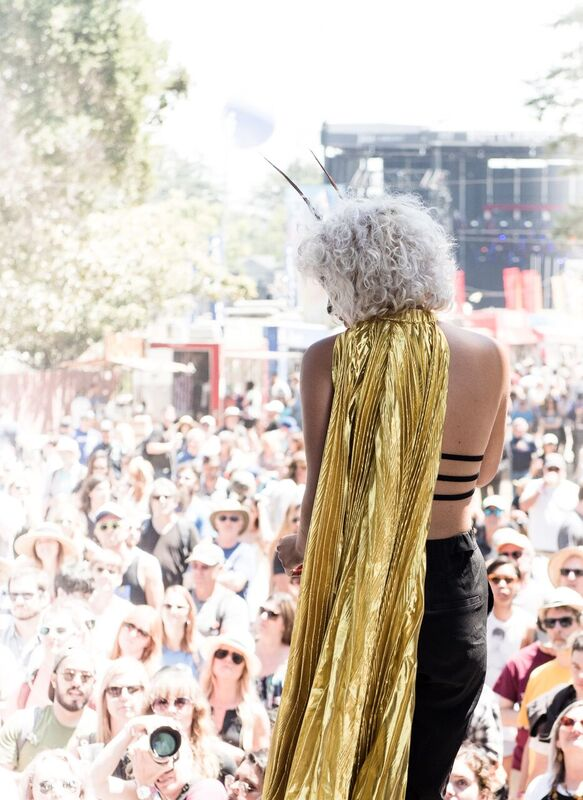 """""""It's the best kind of busy. At the end of the day you're just making music with your friends,"""" Redwood Revue stated in the press conference. Photo Credit: Courtesy BottleRock Napa Valley"""
