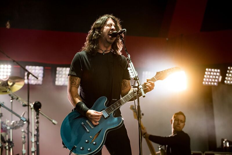 Breaking All The Rules! Foo Fighters Were Literally Unplugged During Their Performance on Closing Night at BottleRock Due to Playing Past the 10PM Curfew!However,They Stayed True To Fans and Kept Their Promised Not to Stop!Photo Credit: Courtesy BottleRock Napa Valley