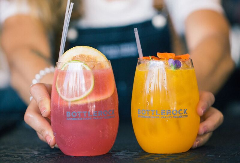 There Wasn't a Shortage of Refreshing Delicious Beverages at BottleRock! Photo Credit: Courtesy BottleRock Napa Valley