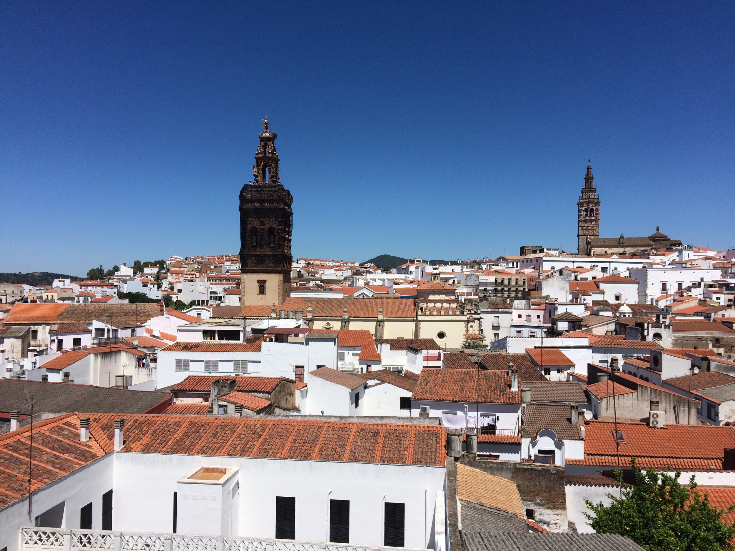 The View From the Beautiful Jerez de Los Caballeros.