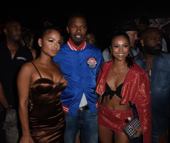 Christina Milian, Jamie Foxx, and Karruche Tran Were Also in Attendance! Courtesy Photo