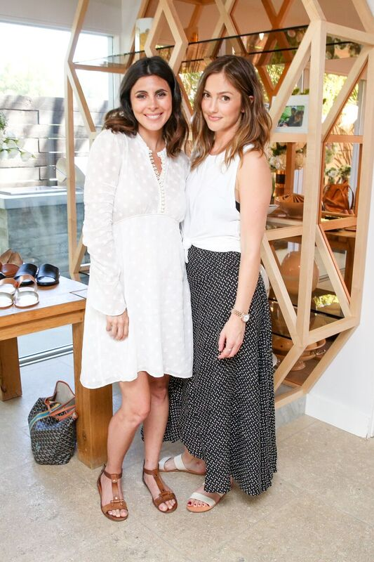 Jamie Lynn Sigler Dressed Appropriately For the Garden Party! She Wore a n:Philanthropy skirt and top with Jimmy Choo shoes and a FASHIONABLE bag! Photo Credit: Marc Patrick/BFA