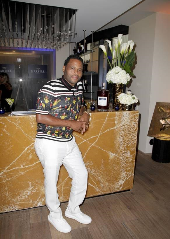 Host of the evening, Anthony Anderson attends the Talent Resources Sports Party hosted by Martell Cognac at Playboy Headquarters on July 11, 2017 Photo Credit: Tibrina Hobson Getty Images for Talent Resources Sports