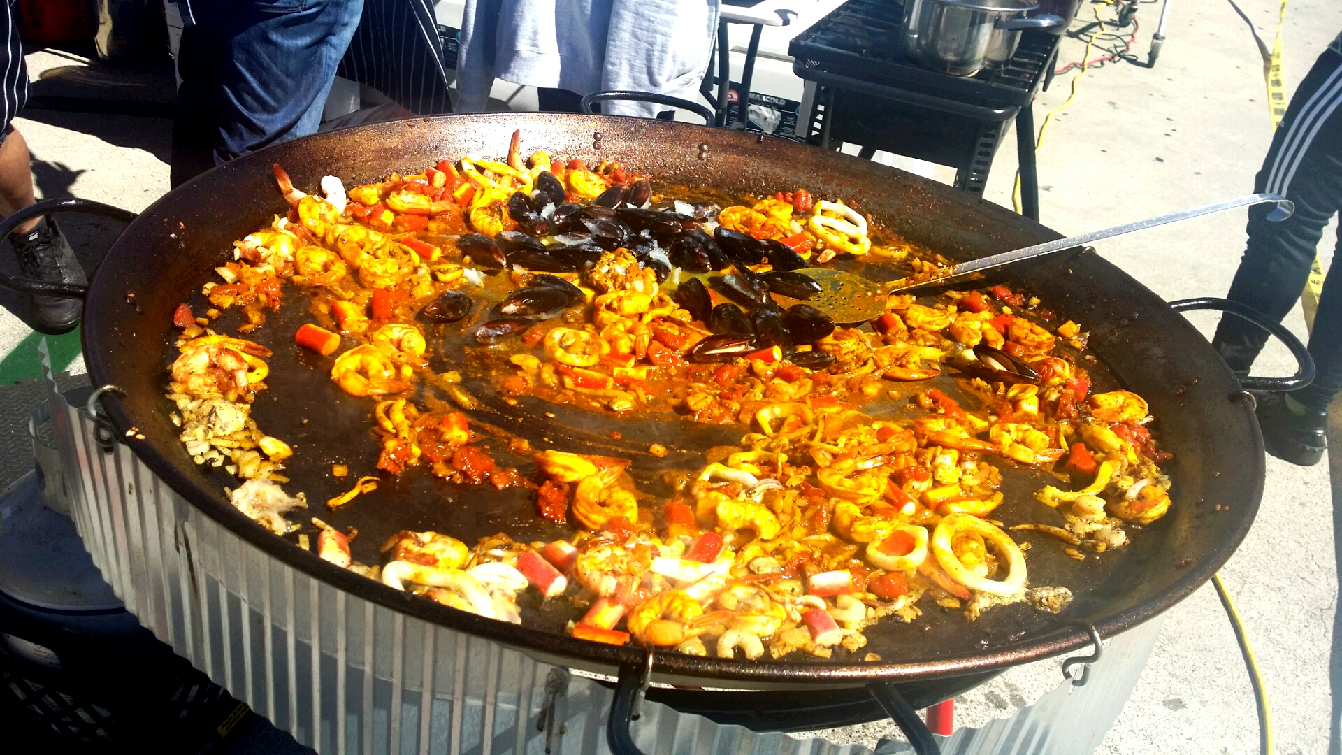 The Seafood Paella!