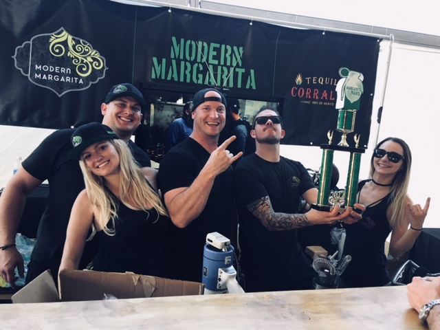 Modern Margarita Didn't Leave Home Empty Handed!