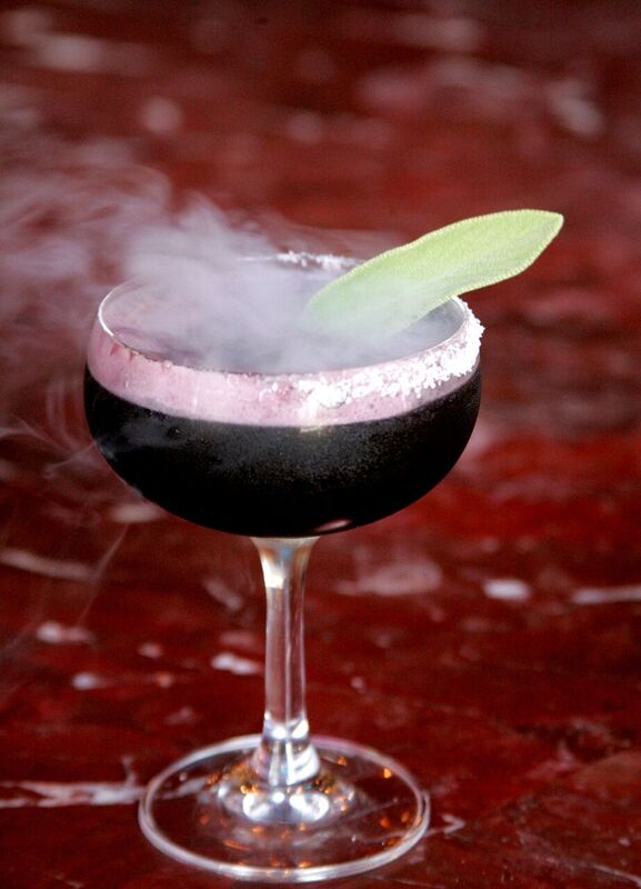 Who Wouldn't Want to Drink a Cocktail That Looks Like its From Hocus Pocus! Photo Credit: Bob Hodson