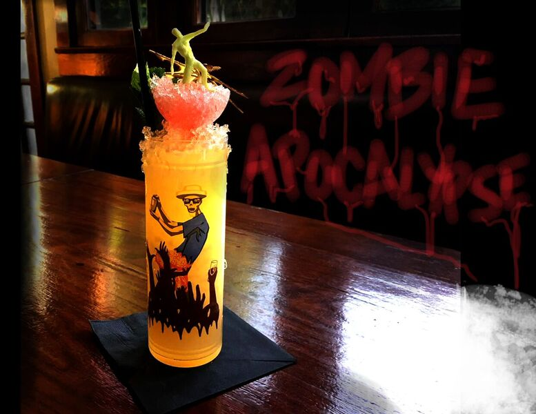 This Drink is For the Brave Souls! Photo Credit: Courtesy of The Raymond 1886