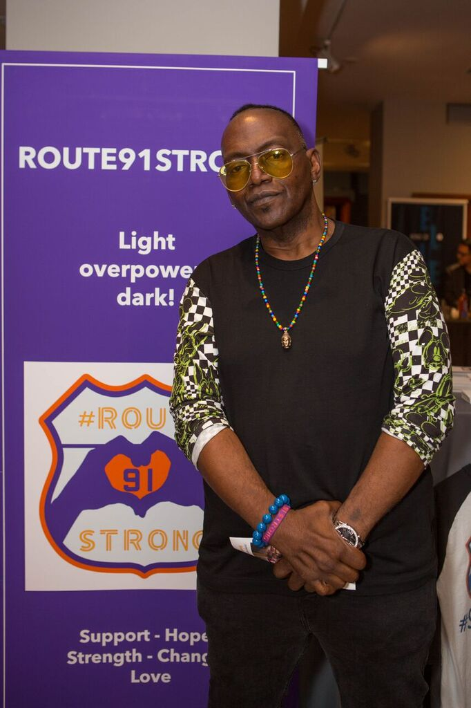 Randy Jackson Showed His Support for Route 91 Strong! Photo Courtesy of GBK