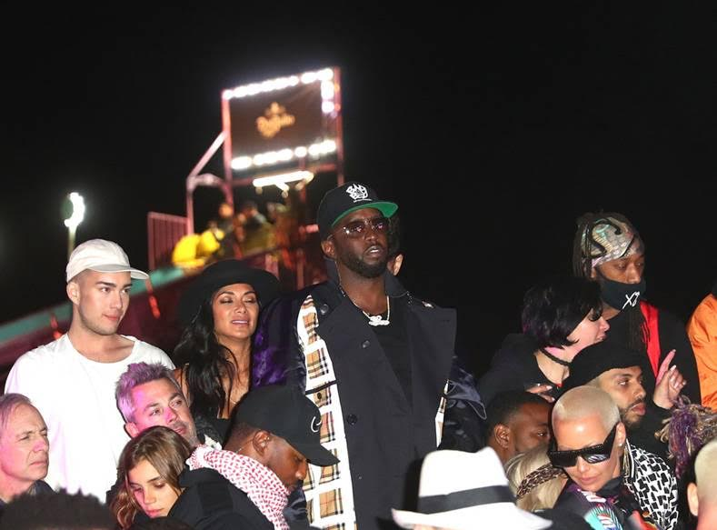 Diddy attends the Levi's® Brand Presents NEON CARNIVAL with Tequila Don Julio on April 14, 2018 in Thermal, California. Photo Credit:Joe Scarnici |WireImage/