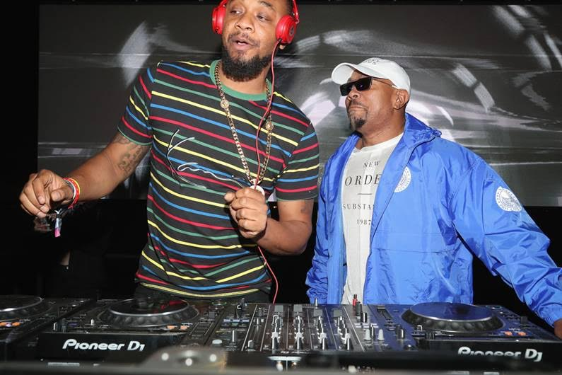Timbaland surprised guests with a surprise performance at the Levi's® Brand Presents NEON CARNIVAL with Tequila Don Julio on April 14, 2018 in Thermal, California. Photo Credit:Cassidy Sparrow |WireImage.