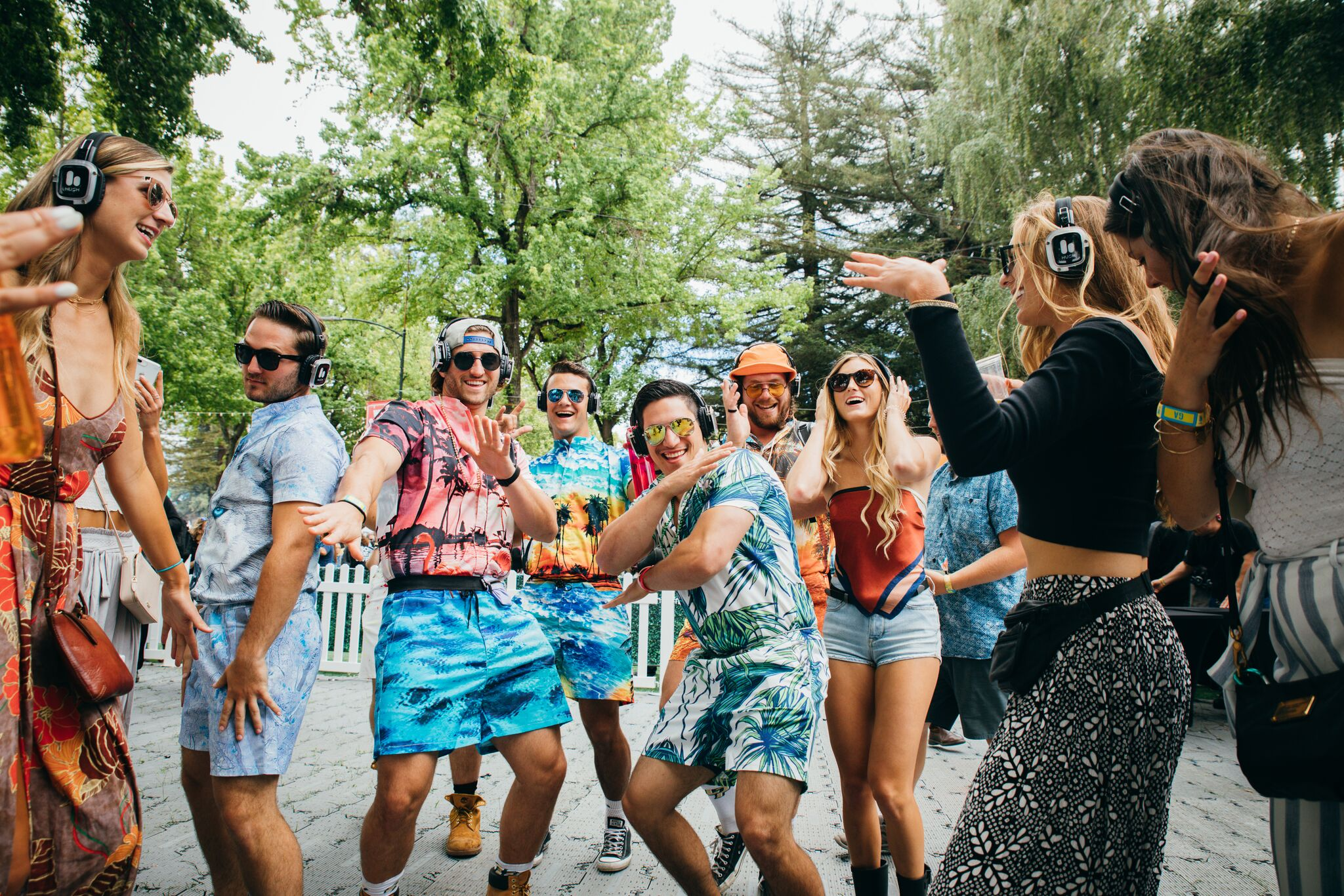 The Silent Disco Stayed LIT Throughout the Festival! Photo Credit: BottleRock Napa Valley
