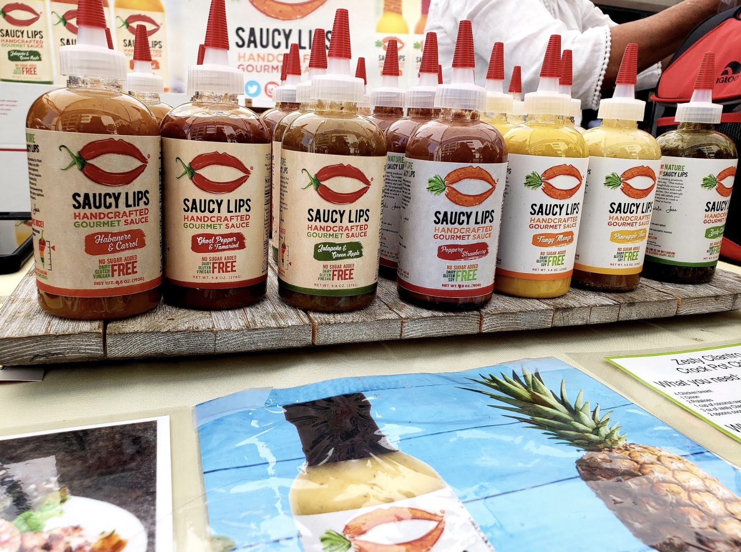 Saucy Lips Was Pretty Addicting! It Serves As a Great Marinade or Topping to Your Favorite Foods!