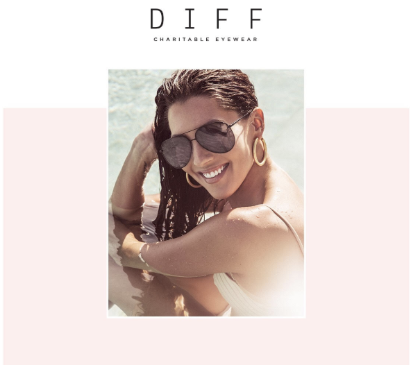 Beffa Kufrin Debuts Her Collab with Diff Eye Wear Next Week! Courtesy Photo
