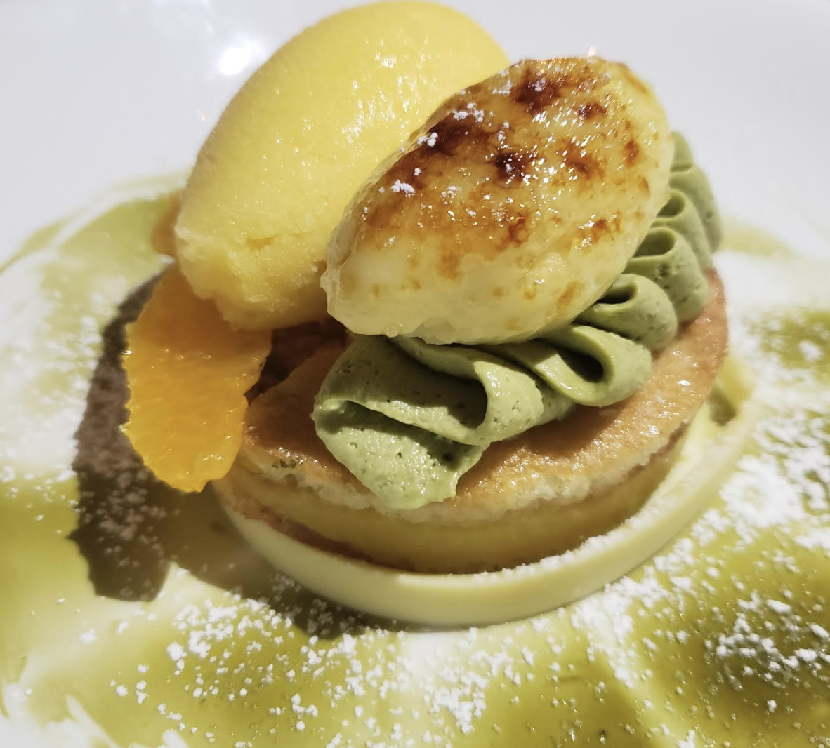 End Your Tasting Dinner with Delicious Dessert at Commerson!