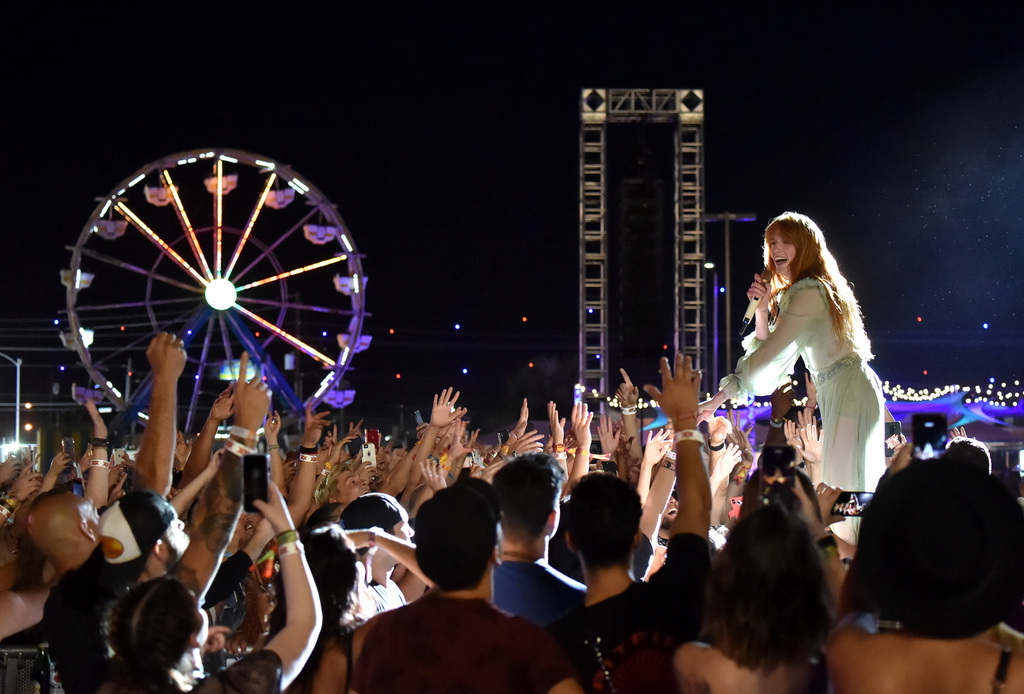 Florence and The Machine Was Sheer Perfection! Photo by Jeff Kravitz/FilmMagic for Life Is Beautiful.