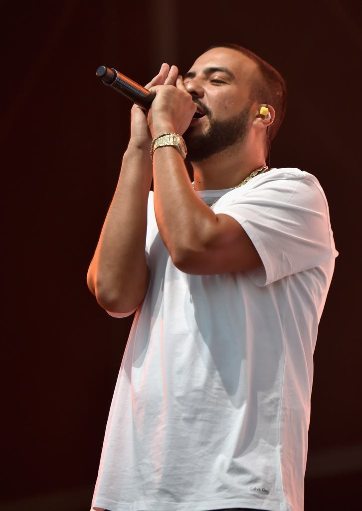 French Montana performs on Downtown Stage during the 2018 Life Is Beautiful Festival on September 21, 2018 in Las Vegas, Nevada. (Photo by Jeff Kravitz/FilmMagic for Life Is Beautiful)