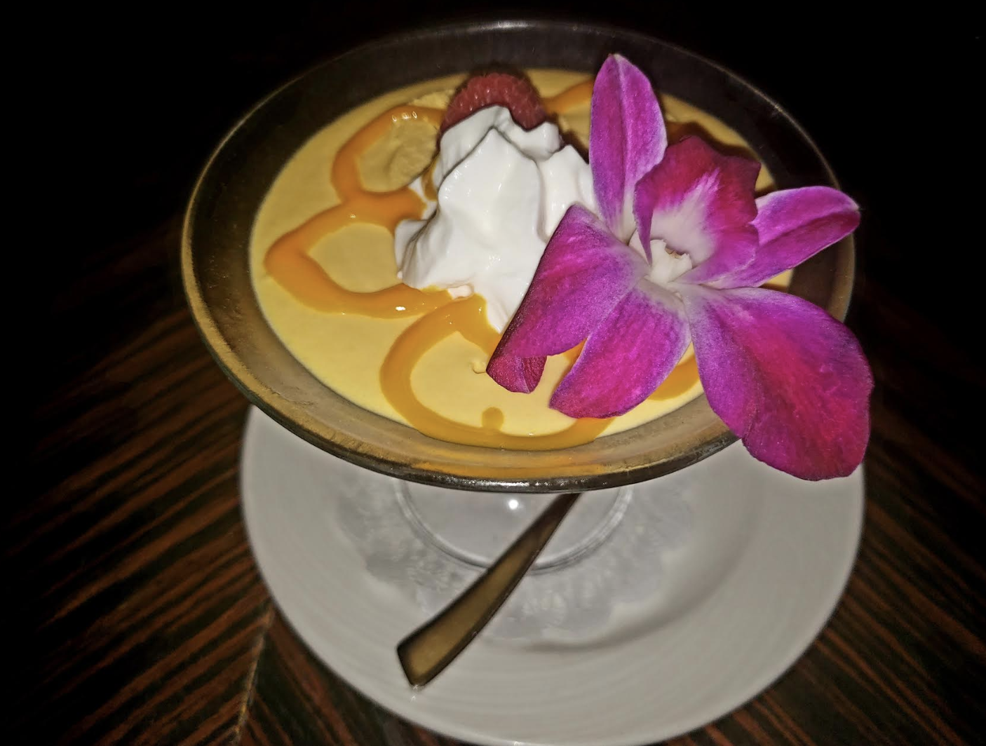 Highly Recommended - The Mango Mousse!