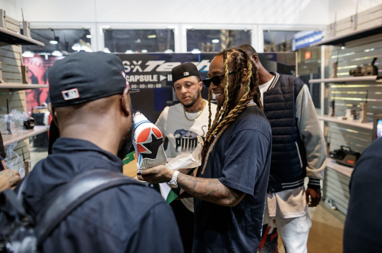 Celebs and Fans Line Up to See the Latest From Puma. Photo Credit: ComplexCon