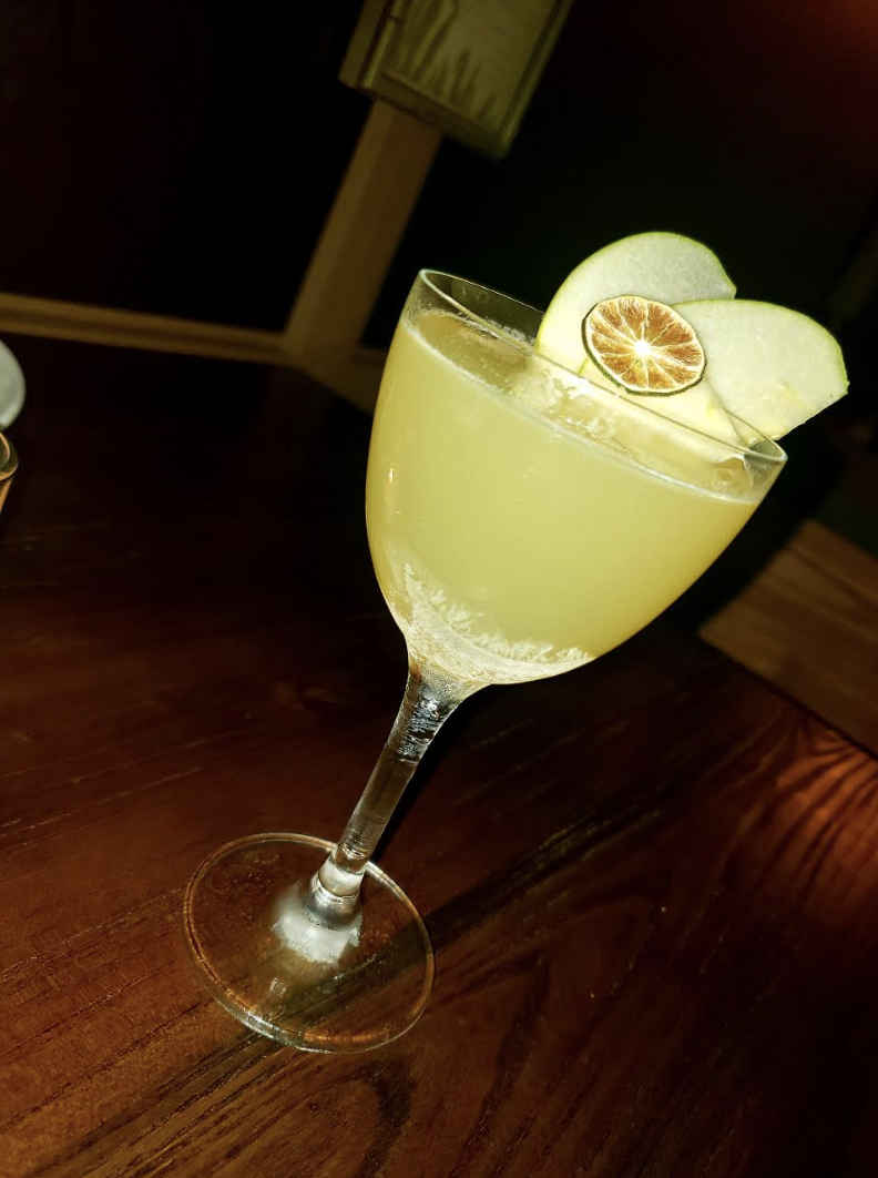 Perfect Combination! The Apple Daiquiri is Refreshing!