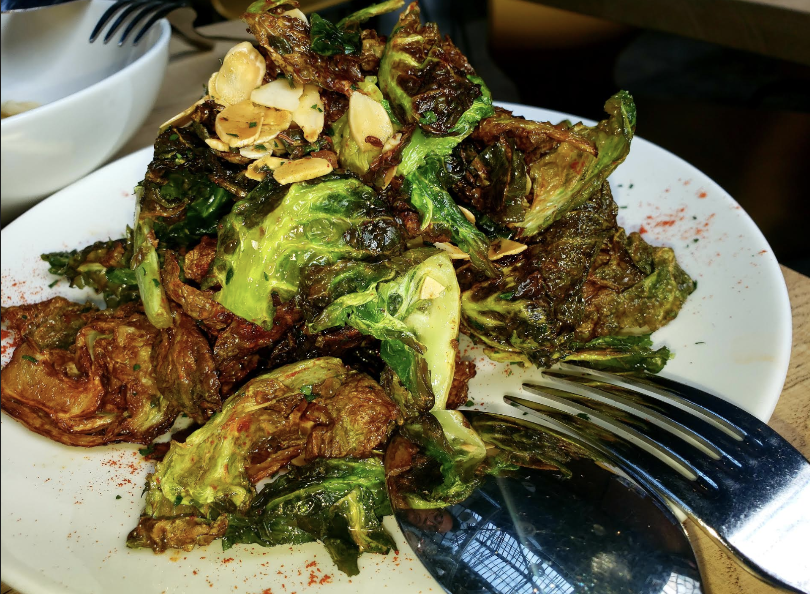 The Brussel Sprouts are a MUST!