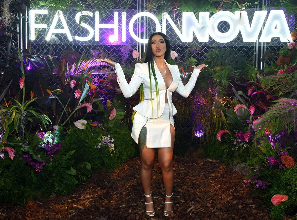 Cardi B Debuts Her Second Collaboration with Fashion Nova Last Night in Hollywood.   Photo Credit: Presley Ann/Getty Images for Fashion Nova