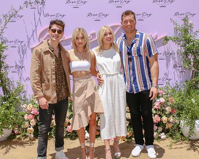 Bachelor Nation! Gregg Sulkin,Michelle Randolph,Cassie Randolph,Colton Underwood Attend Rosé Day LA! Photo Credit: (BFA/Jason Lowrie)